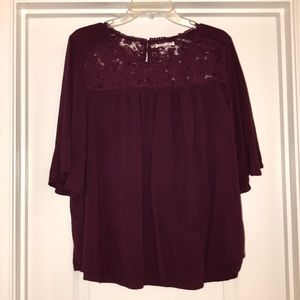 Honey Punch Top with lace